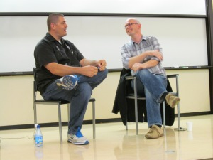 Novelist Adam Johnson and tech blogger Martyn Williams shared observations during the NBTB keynote on June 24 about the work they are doing to shed light on the  little-known nation of North Korea.