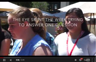 Team Eye explores #EYEdentity and #StereotypeProblems