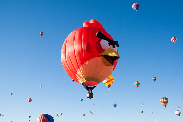 Don't be an angry bird — be an earlyone!
