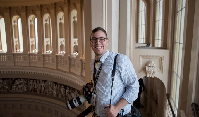 Introducing our politics keynoter: Al Drago, White House photographer